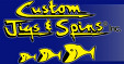 Custom Jigs and Spins Logo